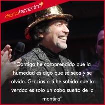 Frases de canciones de Joaquín Sabina: contigo he aprendido...