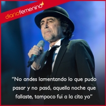 Frases de canciones de Joaquín Sabina: déjate de lamentaciones