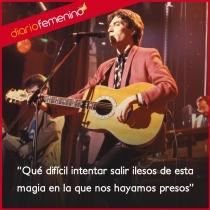 Frases de canciones de Joaquín Sabina: esa magia...