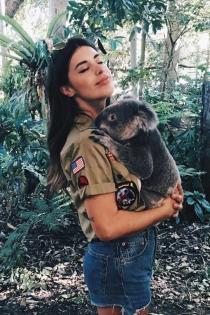 Dulceida, disfrutando de Australia