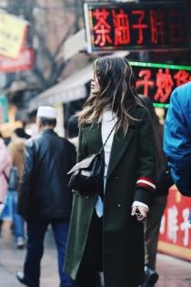 Aida Domenech disfrutando de China
