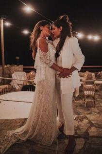 Aida Domenech y Aida Paul nos dieron mucha envidia en su perfecta boda