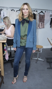 Vanessa Paradis, look denim