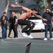 Polémicas de Justin Bieber: vandalismo callejero
