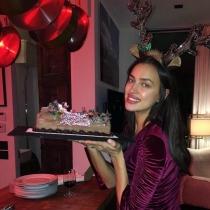 Las navidades de Irina Shayk con su embarazo