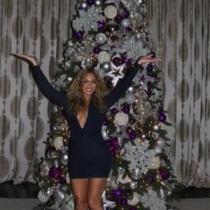 Las sexys navidades de Beyoncé