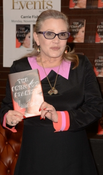Famosas con libro: The princess diarist de Carrie Fisher