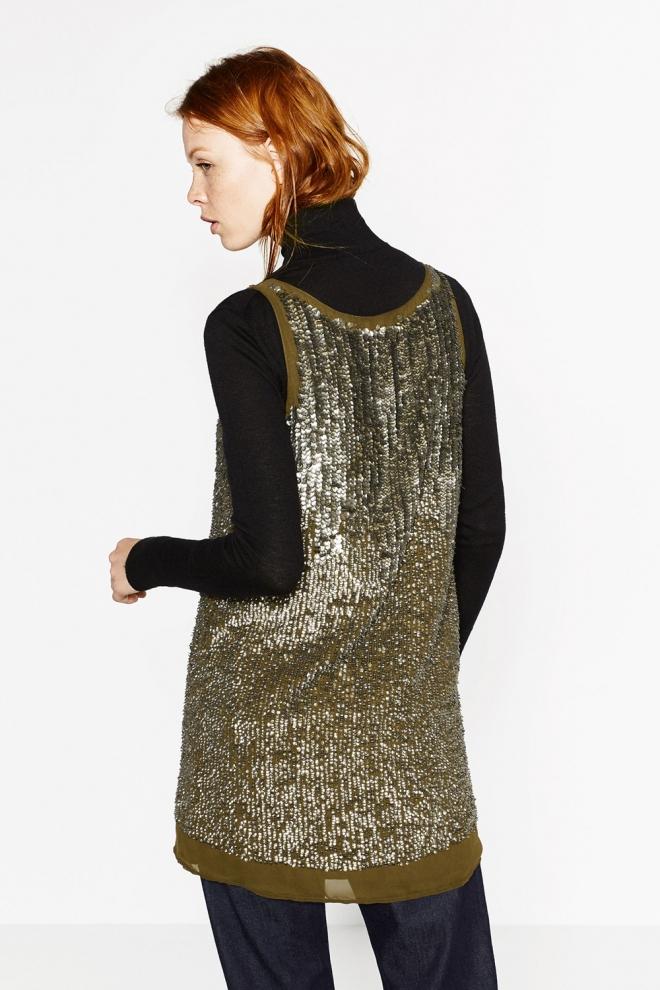 Un vestido ideal de ZARA para celebrar el año nuevo