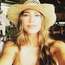 El selfie de Sofía Vergara en sus vacaciones de Navidad