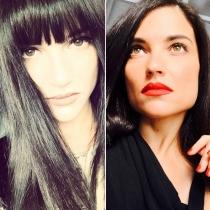 Famosas, ¿con o sin flequillo? : Natalia Jiménez