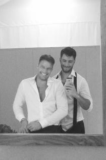 Momentazos de 2016: el anuncio del romance de Ricky Martin y Jwan Josef