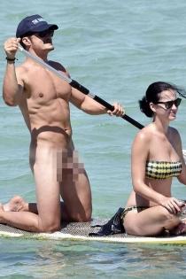 Momentazos de 2016: el desnudo de Orlando Bloom con Katy Perry