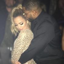 Khloé Kardashian y su novio Tristan Thompson, felices y enamorados