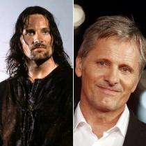 Cambio La comunidad del anillo: Aragorn y Viggo Mortensen