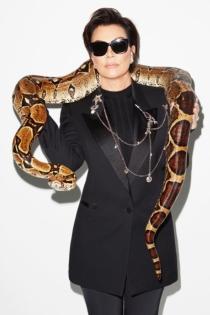 Kris Jenner y su lado más serpiente