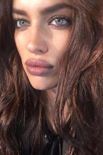 Los labios de Irina, pura belleza