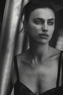Los bellísimos labios de Irina Shayk