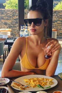 Los labios de Irina Shayk, divinos de vacaciones