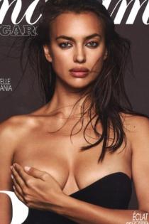 Los labios de Irina en su portada más sexy