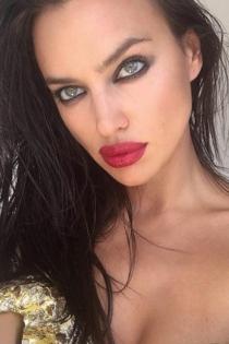Los enormes labios de Irina Shayk más espectaculares