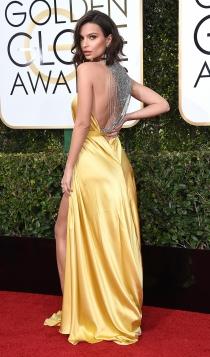 Globos de Oro 2017: Emily Ratajkowski
