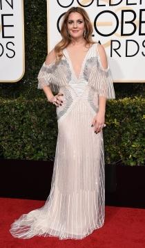 Globos de Oro 2017: Drew Barrymore