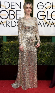 Globos de Oro 2017: Sarah Paulson