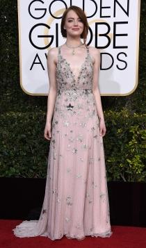 Globos de Oro 2017: Emma Stone