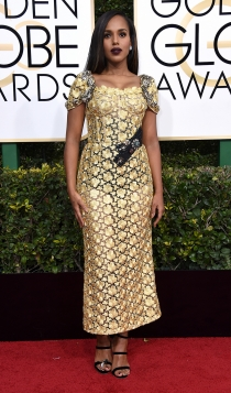 Globos de Oro 2017: Kerry Washington