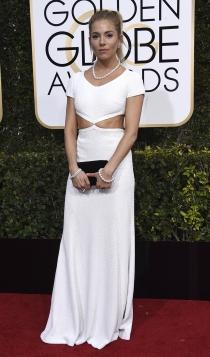 Globos de Oro 2017: Sienna Miller
