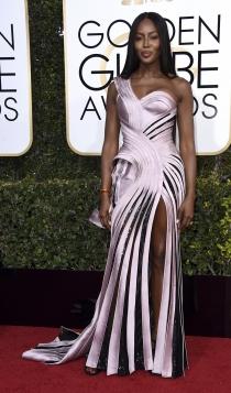 Globos de Oro 2017: Naomi Campbell