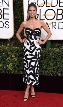 Globos de Oro 2017: Heidi Klum