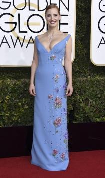 Globos de Oro 2017: Jessica Chastain