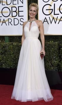 Globos de Oro 2017: Gillian Anderson
