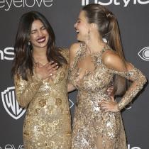 Globos de Oro 2017: Sofía Vergara y Priyanka Chopra, 'gemelas'