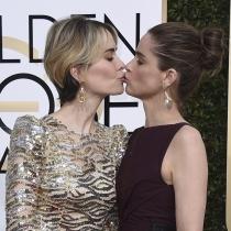 Globos de Oro 2017: El beso de Sarah Paulson y Amanda Peet