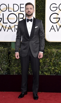 Globos de Oro 2017: Justin Timberlake