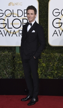 Globos de Oro 2017: Eddie Redmayne