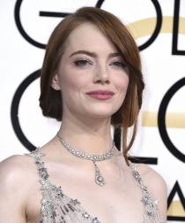 Peinados de los Globos de Oro 2017: Emma Stone
