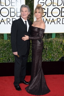 Parejas de los Globos de Oro: Goldie Hawn y Kurt Russel