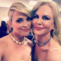 El selfie de Reese Witherspoon y Nicole Kidman en los Globos de Oro