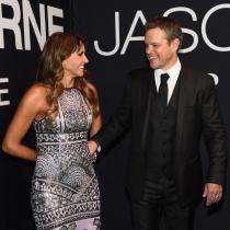 Matt Damon y Luciana Barroso, pura complicidad