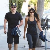 Matt Damon y Luciana Barroso, vida sana