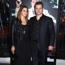 Matt Damon y Luciana Barroso, una pareja feliz