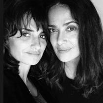 Famosas que son amigas: Salma Hayek y Penélope Cruz