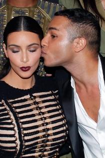 Musas de Balmain: Kim Kardashian