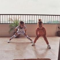 Las hermanas Hadid cuando eran pequeñas