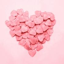 Corazones para San Valentín