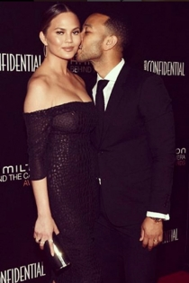 Parejas que casi rompen: Chrissy Teigen y John Legend