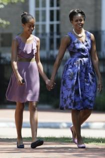 Malia Obama, heredando el estilo de su madre